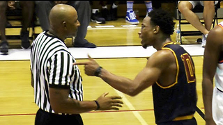 DeMar DeRozan THROWS Basketball at Ref During Heated Drew League Game - Video