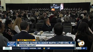 Hundreds honor the life and legacy of Dr. Martin Luther King Jr.