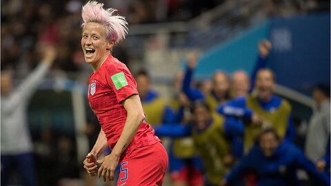 Solo Slams women's soccer celebration