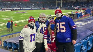 Bills fans share playoff game experience