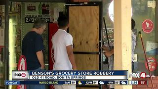 Lee Co. deputies investigating grocery store robbery - Video