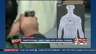 Constitutional carry comes with several changes