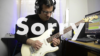 Awesome electric guitar cover of Justin Bieber's 'Sorry' - Video