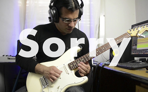 Awesome electric guitar cover of Justin Bieber's 'Sorry'