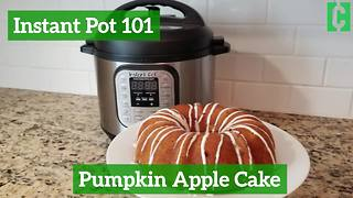 Instant Pot Pumpkin Apple Cake - Video