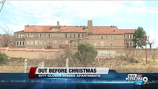 Tenants kicked out before Christmas