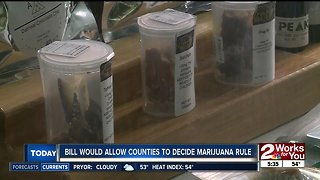 Bill would allow counties to decide marijuana rule