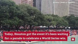 City of Houston celebrates big win | Rare Houston - Video