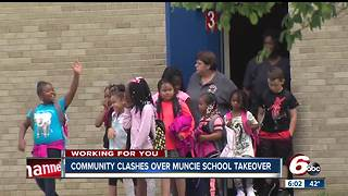Hundreds of teachers quit as Muncie schools face state takeover - Video