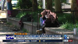 Keeping Homeless off the streets of Baltimore - Video