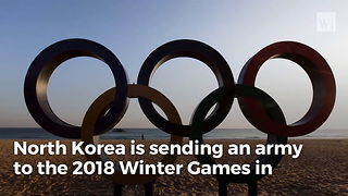 Charm Offensive North Korea Sending Cheerleading 'Army Of Beauties' To South Korea Olympics - Video