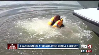 Boating safety stressed after deadly accident