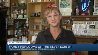 Green Country woman's family heirlooms featured in upcoming film 'Killers of the Flower Moon'