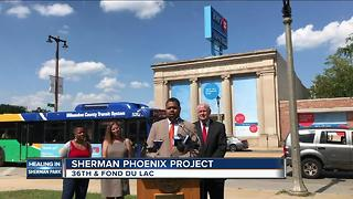 Renovation project announced for Sherman Park neighborhood - Video