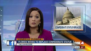 Florida moves to replace Confederate statue in US Capitol - Video