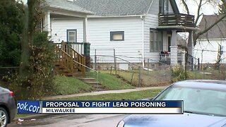 Mayor Tom Barrett discusses proposal to fight lead poisioning