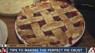 Tips to making the perfect pie crust - Video