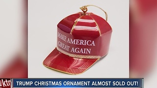 'Make America Great Again' Christmas ornament sells thousands worldwide - Video