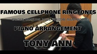 Talented Student Plays Famous Ringtones on Piano - Video