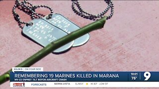 21 years later: Marines killed in crash honored in Marana