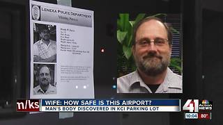 Man's body discovered in KCI parking lot - Video