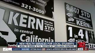 BCSD to now offer STD testing for students - Video