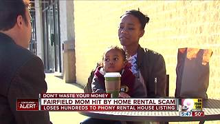 Young mom falls prey to home rental scam - Video