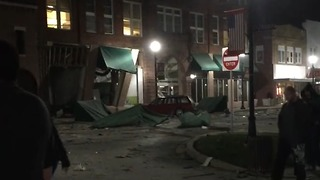 Downtown Canton Heavily Damaged in Gas Explosion - Video