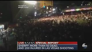 At least 50 dead in Las Vegas shooting - Video