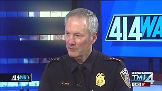 EXCLUSIVE: Milwaukee Police Chief discusses retirement with 414ward - Video
