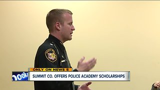 16 scholarships available for police academy from the Summit County Sheriff's Office