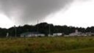Injuries and Building Damage After Tornadoes Hit Southern States - Video