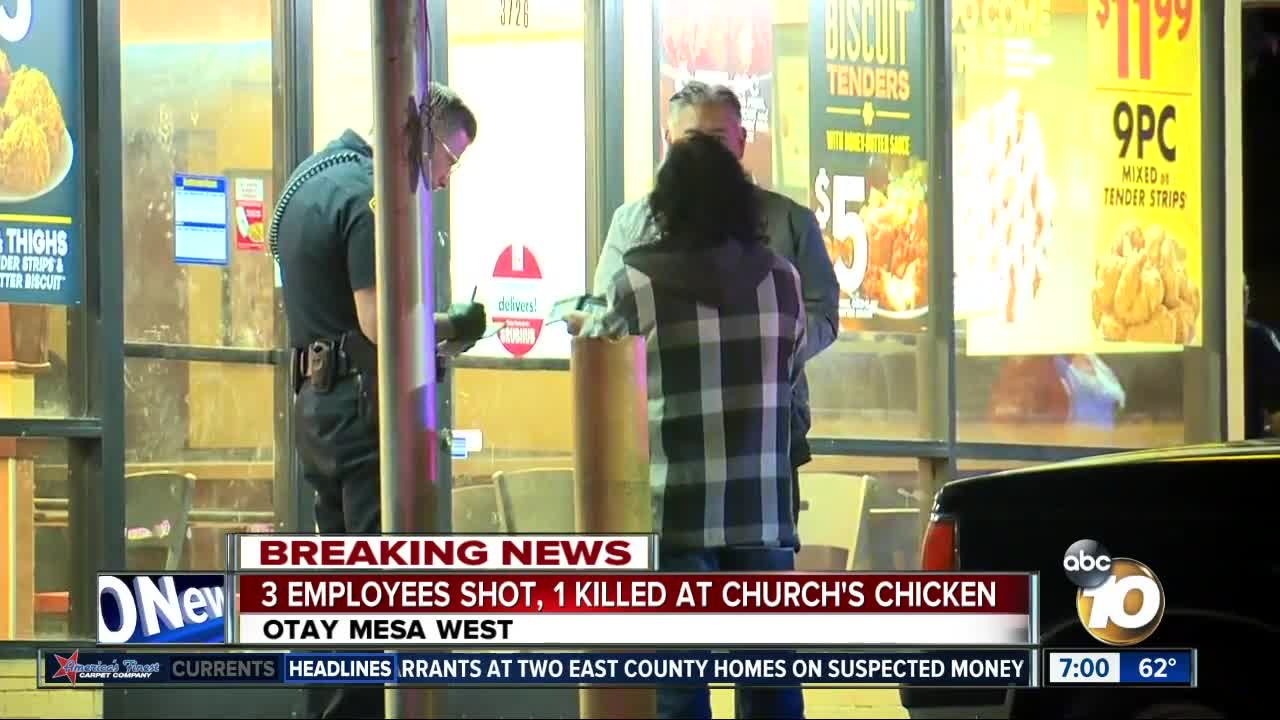 One killed in Church's Chicken shooting