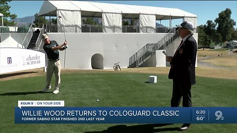 Willie Wood returns to the Cologuard Classic