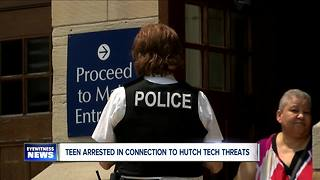 Buffalo Police arrest teen in connection with threat at Hutch Tech High School
