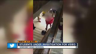 Students under investigation for online videos - Video