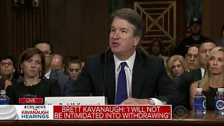 The Kavanaugh Hearings: The judge gives his opening statement - Video