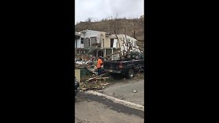 Video shows scale of Irma destruction in British Virgin Islands - Video