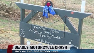 Deadly motorcycle accident - Video