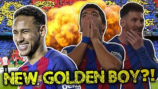 Has Neymar Replaced Messi As Barcelona's BIG GAME Player?! - Video