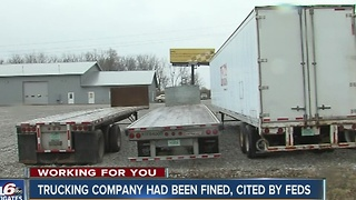 Indianapolis trucking company had been fined, cited by feds before bridge accident - Video