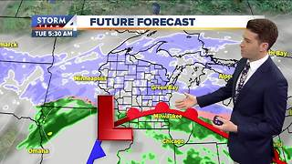Meteorologist Josh Wurster's Easter Sunday Forecast - Video