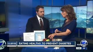 Diet tips to prevent Diabetes - Video