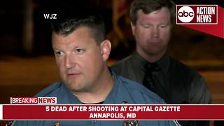 Officials identify the five victims of the Capital Gazette shooting - Video