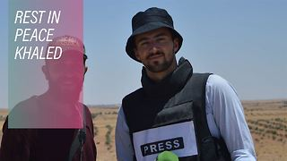 25-year-old Zoomin.TV journalist killed by ISIS - Video