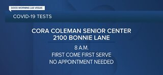 Cora Coleman Senior Center testing open