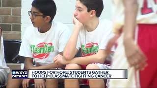Bloomfield Hills students use basketball to rally around classmate fighting cancer