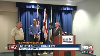 Collier braces for more flooding - Video