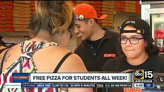 Blaze Pizza giving out free pizza to high school students