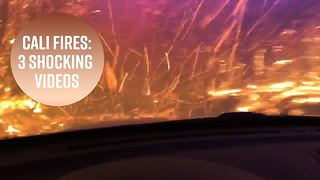 3 jaw-dropping videos from the California wildfires - Video
